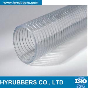 Mangueira de arame de aço de PVC/mangueira de sucção de água de PVC