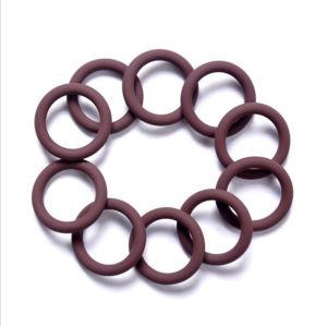 Calor alto / Buena resistencia química de elastómeros FKM/FPM junta tórica de goma para el sellado Industrial
