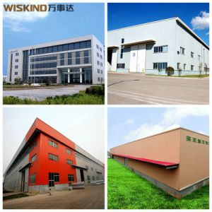 Diseño Large-Span edificios con estructura de acero con revestimiento de pared corrugado