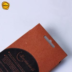 preço de fábrica Sinicline Design Personalizado impresso em papel kraft Celular armazenamento das tampas da caixa de embalagem
