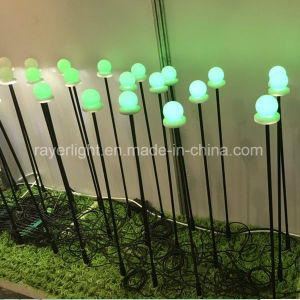 LED夜庭屋外RGBの祝祭の装飾ライト