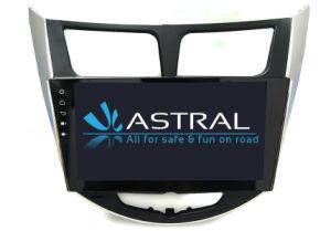 En-Dach Car TV lecteur de DVD pour Hyundai Verna Accent Solaris avec Bluetooth WiFi