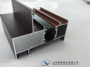Aluminium verdrängte Fenster-Profil/Aluminiumprofil für Glasfenster