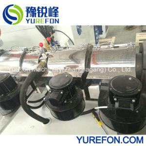 tubería de PVC Sjsz65/132/profile/chapa/placa de la extrusora doble tornillo cónico