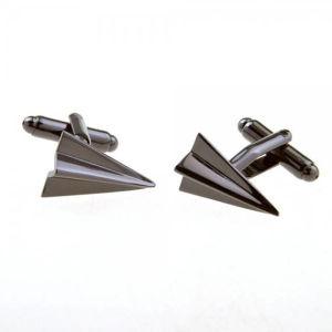 고품질 3D 은 항공기 커프스 단추