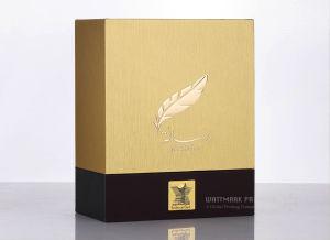 고품질 선물 상자 생산 회색 널 선물 상자 엄밀한 상자