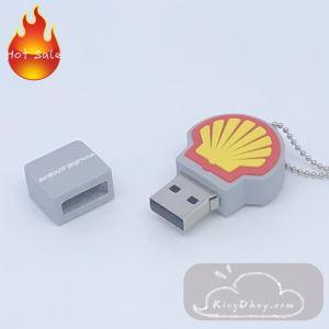 Custom мягкий ПВХ флэш-накопитель USB