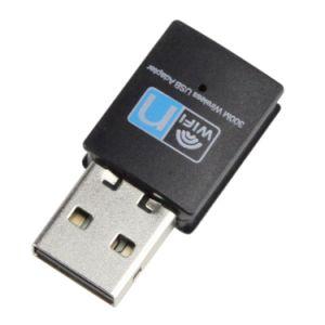 Rtl8192 chipset 300Mbit/s USB WiFi dongle adaptateur de carte réseau LAN sans fil