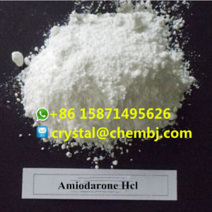 Antiarrhythmic Drogenamiodarone-Hydrochloridhcl-Puder CAS 19774-82-4