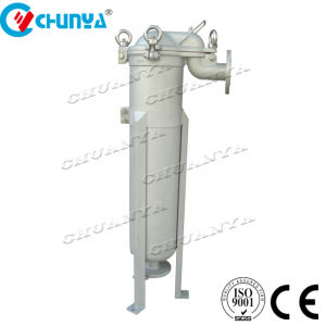 Com vários estágios Saco único de entrada superior do alojamento do filtro