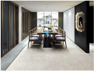 0吸水の建築材料の壁そして床の無作法なタイル