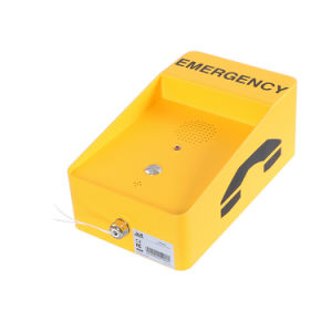 Атмосферостойкие SIP Handsfree селекторной связи в чрезвычайных ситуациях вандалозащищенная IP65 телефон