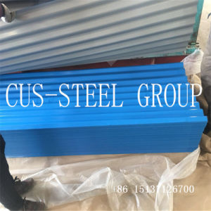 Гамбия 0,15*665 Prepainted оцинкованного стального цвета лист/PPGI гофрированный листа крыши