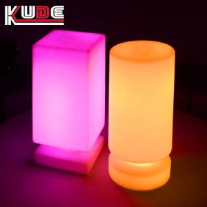 El LED alimentado por batería inalámbricas lámparas de mesa para restaurantes del hotel