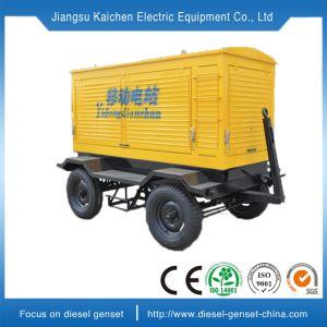 販売のための30 KVAの極度の無声連続した移動式ディーゼル発電機