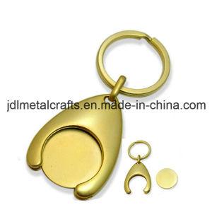 Chinesische Fabrik-prägt kundenspezifisches Zink-Legierungs-Transportgestell-Laufkatze-Zeichen Schlüsselhalter (001)