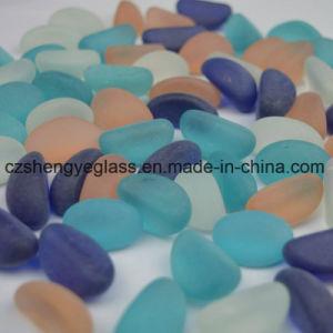 Decorativos del paisaje de piedras preciosas de vidrio esmerilado