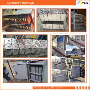 2V 600Ah Valve Regulated UPS/plomo-ácido de batería solar