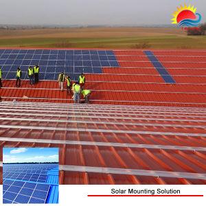Солнечные фотоэлектрические монтажный кронштейн Тин система крепления на крыше;