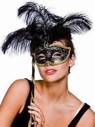 Máscara de máscara requintado estilo Veneziano, máscaras, Máscara de terceiros, Máscara de mulheres