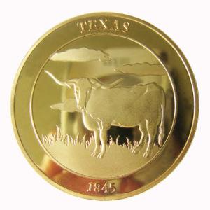 OEMはカスタマイズした金属のクラフト3D旧式なセントルイス郡警察の挑戦硬貨(014)を