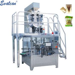 Вращающийся Eelectronic зерна твердые жидкие вставить порошок чехол заполнение муки упаковки сахара Doypack Spice упаковочные машины