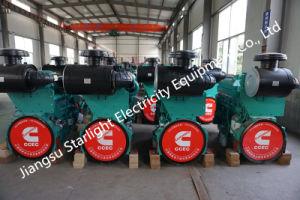 Gerador Diesel Cummins 120kw 150kVA Gerador de Energia Elétrica Definir Marcação/aprovação ISO