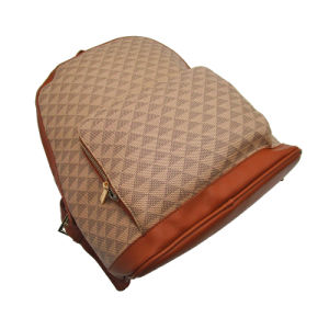 Sac à dos de grande capacité Hotsale célèbre marque OEM / ODM Sac à dos Sac shopping mode femme facile pour l'homme est en déplacement et de tendance populaire sac à dos de PU