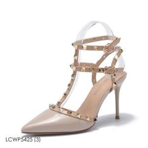 Womens Mesdames haut talon partie Stiletto Prom chaussures sandales goujon