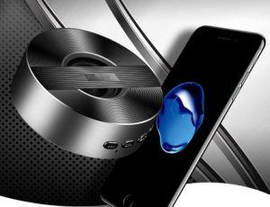 El Subwoofer altavoz Bluetooth de alta fidelidad de aleación de aluminio