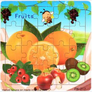 Nombre de fruits du développement du renseignement Puzzle en bois Jouets Jouets éducatifs