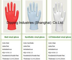 De Onderdompelende Lijn van de handschoen voor de VinylMachine van /Glove van de Beschikbare Handschoen