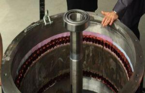 750kw 77tr/min 60Hz AC Sortie générateur à aimant permanent à basse vitesse