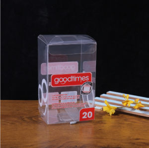 Caja de Plástico Caja Transparente de PVC Caja del Embalaje