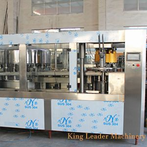 Aluminun puede Bebidas Máquina de embalaje con Máquina Tapadora de llenado