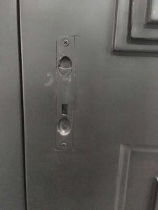 As portas de ferro forjado único, porta de ferro Wought galvanizado por grosso, Vintage Porta Adega de ferro
