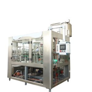 Automatische In het groot het Vullen van het Drinkwater van de Drank van de Bottelarij Vloeibare Machine