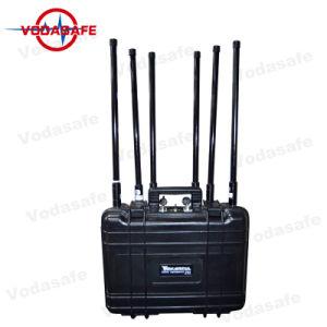 Portátil de alta potencia de RF de la banda de 6Jammer/Blocker, todos los teléfonos móviles 3G/2G (GSM/CDMA/DCS) /4glte/Wi-Fi2.4G/GPSL1 , Jammer mano