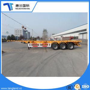 20FT/40FT Behälter-Skeleton Transport-halb Schlussteil für Portbeförderung