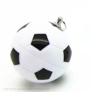 8GBによってカスタマイズされるニースデザインフットボールのPedrive USBのフラッシュ駆動機構