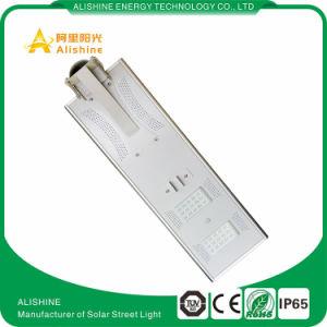 Indicatore luminoso di via solare esterno del giardino del sensore di movimento di 30watts LED con la batteria dello Li-ione