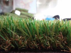 Il giardino esterno ha usato l'altezza di 35mm, tappeto erboso artificiale dello Synthetic dell'erba di forma di v