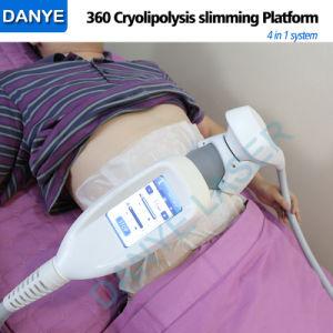 2019 Nouveau 360 Vide Cryolipolysis la cavitation RF Coolscuplting 4 en 1 Fat Gel Corps machine minceur
