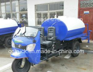 Hochdruckstraßenreinigungs-Wasserkarren-Dreiradkleine Dreiradwasserkarre