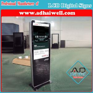 55インチはVcamのタッチ画面LCD LEDデジタルの表記プレーヤーを立てる