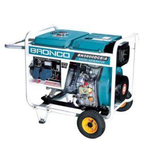 Roues et poignée générateur diesel refroidi par air
