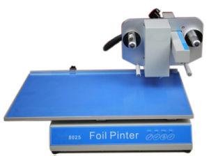 Fp-8025 caliente de la máquina de estampado de lámina plana, Impresoras lámina caliente