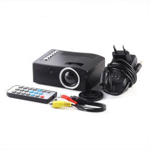 영상 극장 영사기 1080P가 밤 가벼운 영사기 큰 DVD HDMI LED 텔레비젼 DLP에 의하여 4K 영화관 집으로 돌아온다