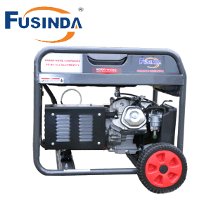 6000 Watts de potencia portátil generador de gasolina con certificado CE