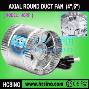4, 6 polegadas Booster do duto do ventilador de exaustão do ventilador/Ventilador do duto em Linha Circular hidrop ico /Hidroponia Fan 100mm, 150 mm